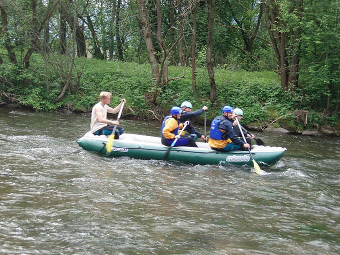 Rieka váh - rafting, splavovanie