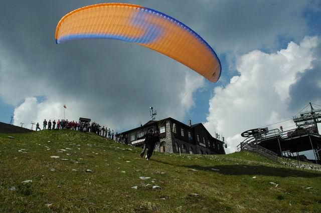 Tandémový paragliding